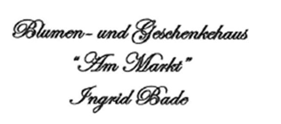 Logo Blumen- & Geschenkehaus Am Markt
