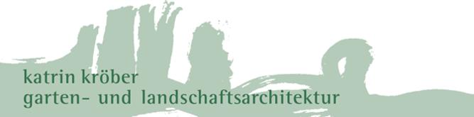 Logo garten- und landschaftsarchitektur katrin kröber
